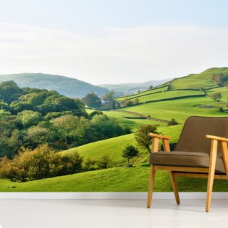 Hills and Valleys Wallpaper Wall Murals