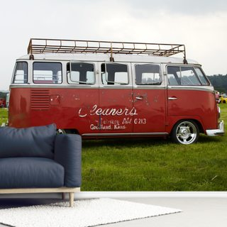 VW Camper Red