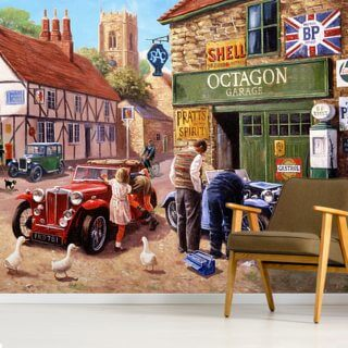 The Village Garage by Kevin Walsh