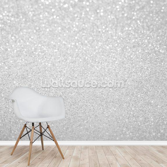 white silver glitter for christmas wallpaper