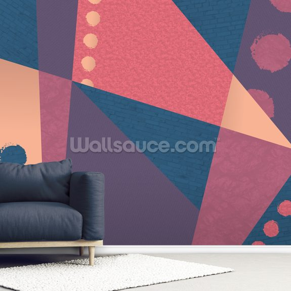 Warm but Cold wallpaper mural room setting