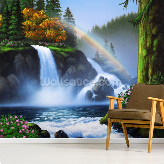 Waterfall Wall Mural Wallsauce Uk