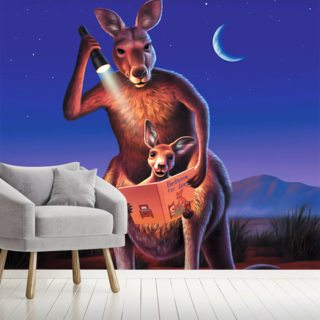 Kangaroos Wallpaper Wall Murals