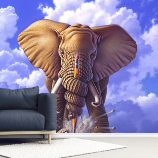 Elephant and Pencil by Jerry LoFaro