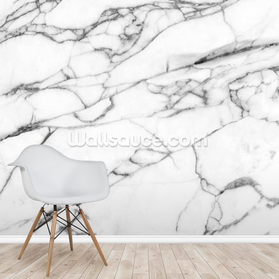 Texture of Marble wallpaper mural room setting