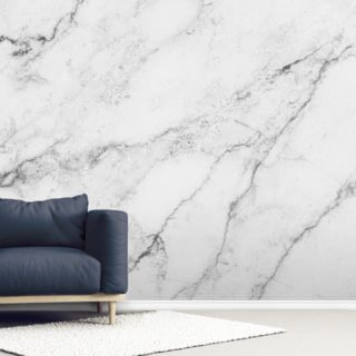 Black and White Marble Wallpaper Wall Murals