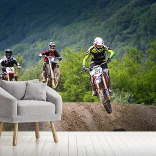 Motocross Championship Wallpaper Wall Murals