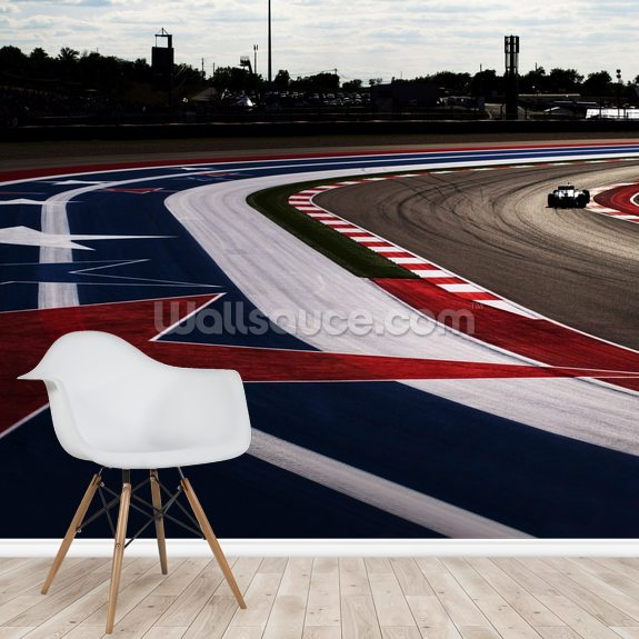 Circuit Of The Americas 2014 wall mural room setting