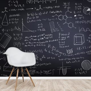 Black Chalkboard Wallpaper Wall Murals