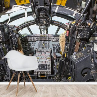 Cold War Bomber cockpit