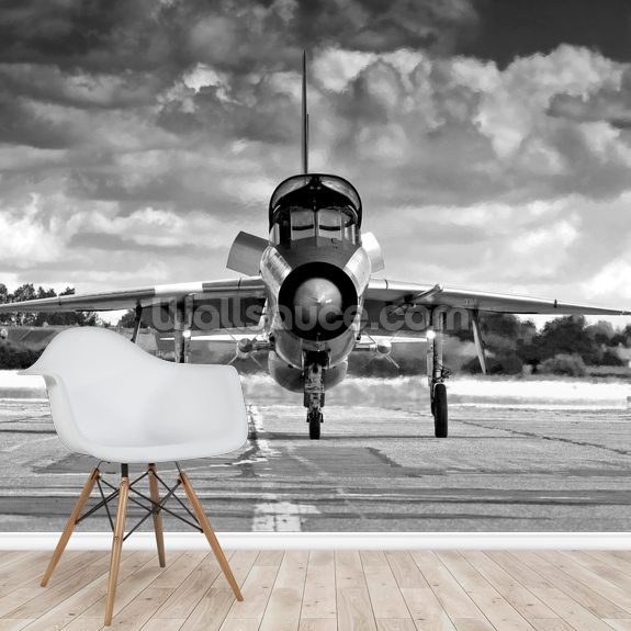English Electric Lightning T5 wallpaper mural room setting