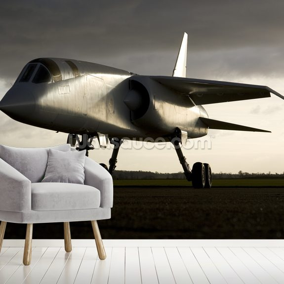 TSR2 Supersonic Jet mural wallpaper room setting