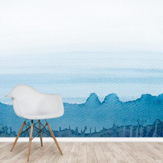 Watercolor Scene Wallpaper