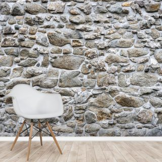 Stone texture of old wall Wallpaper Wall Murals