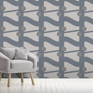 Fibre Grey Wallpaper Wall Murals