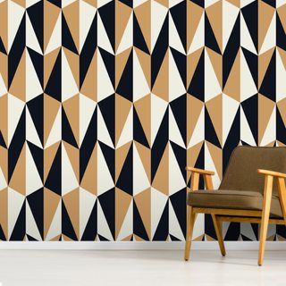 Seamless Retro Pattern Wallpaper Wall Murals