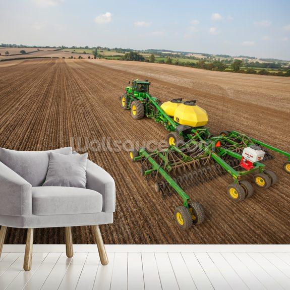 New Deere 2014 wall mural room setting