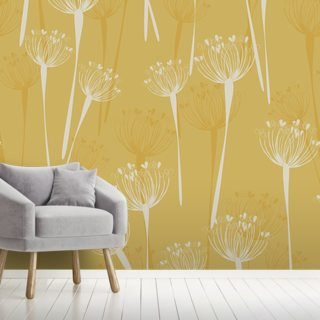 Cow Parsley Butter Wallpaper Wall Murals