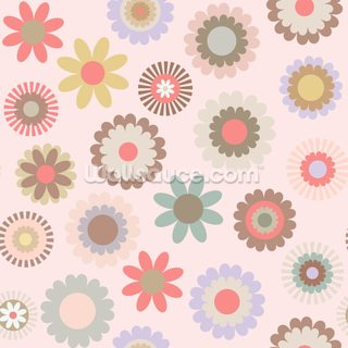 Floral Frenzy Wallpaper Wall Murals