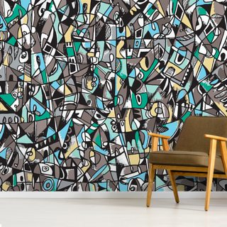Concrete Dreams Ver.2 Wallpaper Wall Murals