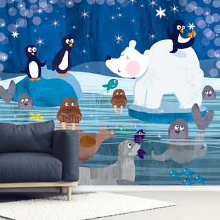 Arctic Puzzle Wallpaper Wall Murals
