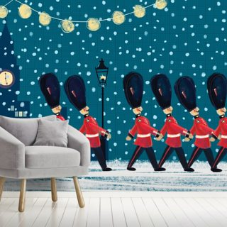 London Scene Wallpaper Wall Murals