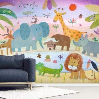Africa Wallpaper Wall Murals