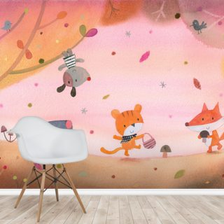 Summer Evening Wallpaper Wall Murals