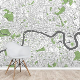 Detailed Map of London