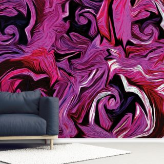 Abstract Roses Wallpaper Wall Murals