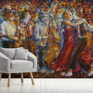 Cats out of Cuba Wallpaper Wall Murals