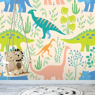Dinosaurs Wallpaper Wall Murals