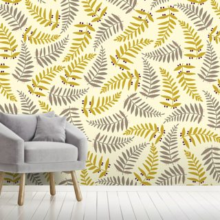 Organic Interweaving Light Wallpaper Wall Murals