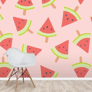 Water Melon Light Wallpaper Wall Murals
