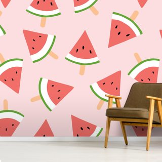 Water Melon Wallpaper Wall Murals