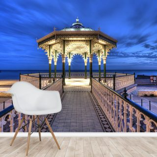 Brighton Bandstand Wallpaper Wall Murals