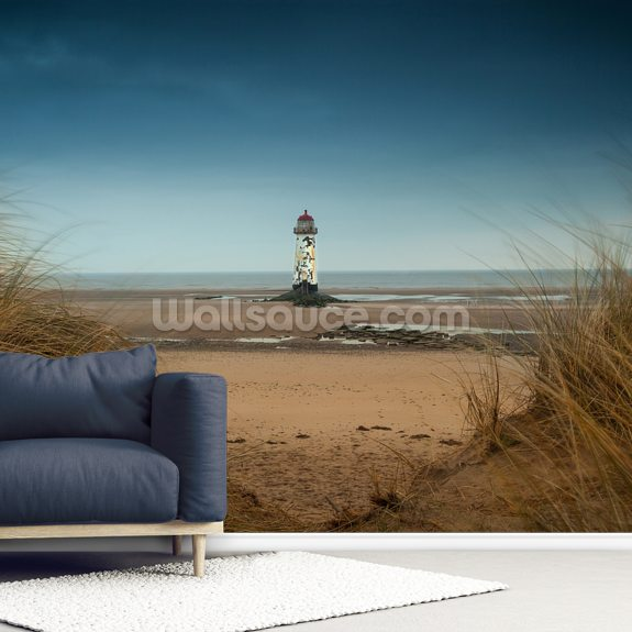 Talacre Sands mural wallpaper room setting
