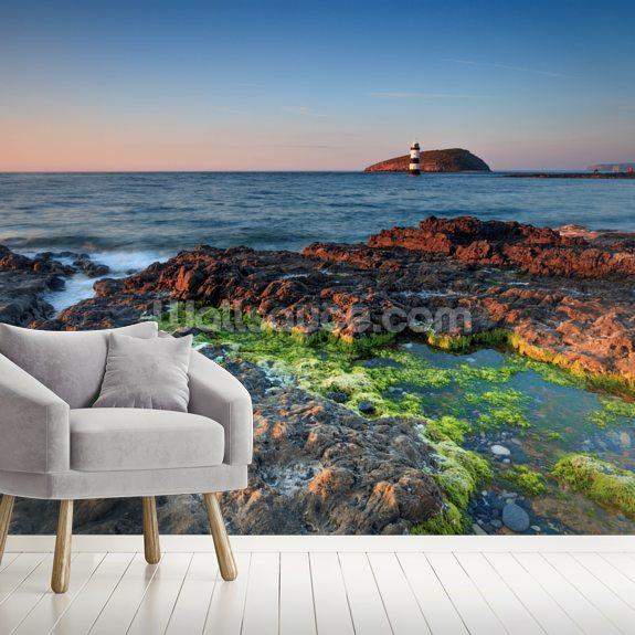 Penmon Lighthouse wall mural room setting