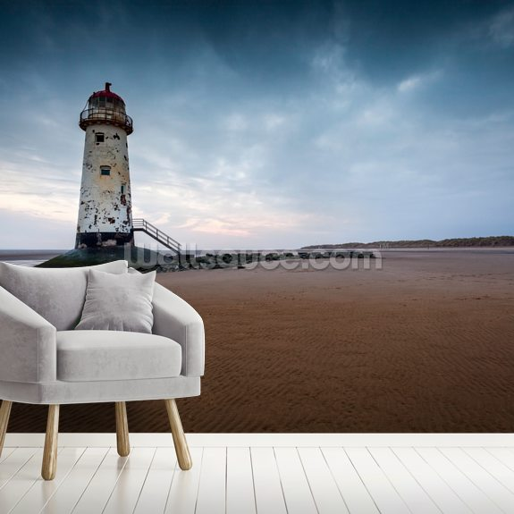 Talacre Lighthouse wall mural room setting