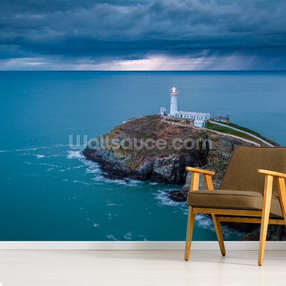 Southstack Storm wallpaper mural room setting