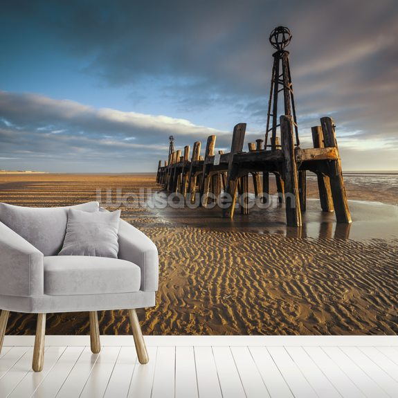 Lytham St Annes Old Jetty wall mural room setting
