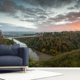 Clifton Supsension Bridge Bristol Wallpaper Wall Murals
