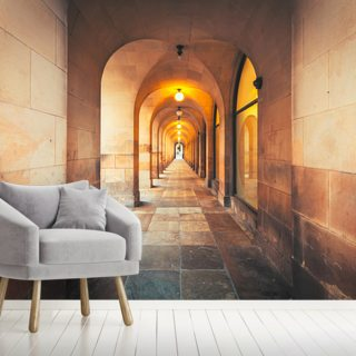Library Walk Manchester Wallpaper Wall Murals