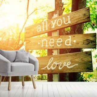 All You Need is Love Wallpaper Wall Murals