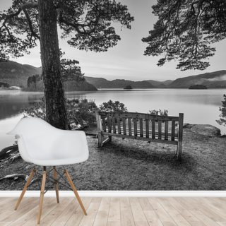 Friars Cragg, Lake District Wallpaper Wall Murals