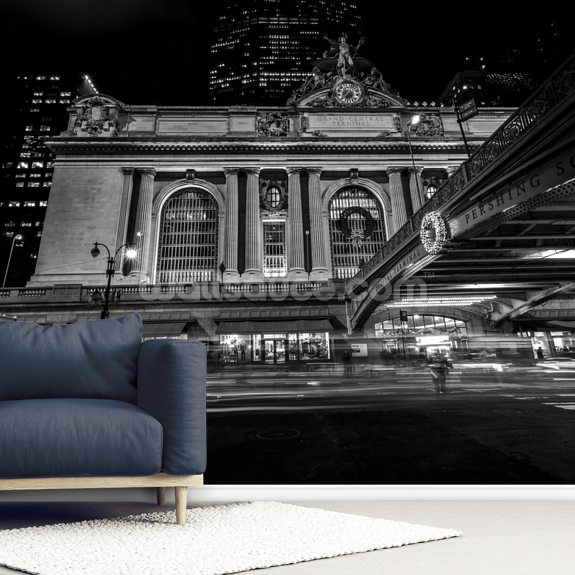 Grand Central Station Exterior wall mural room setting