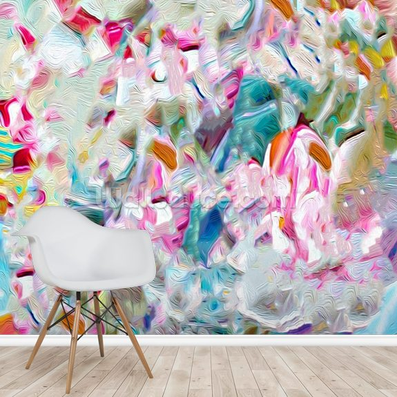 Hard Candy wall mural room setting