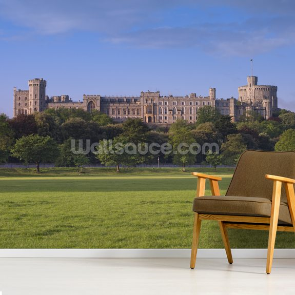 Windsor Castle Berkshire wallpaper mural room setting