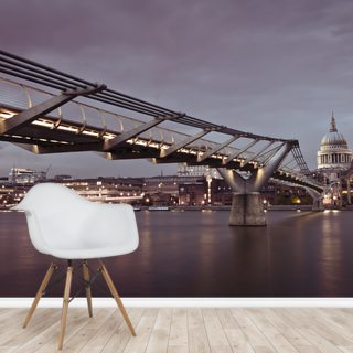 Millenium Bridge Panoramic