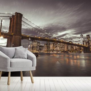 Brooklyn Bridge Skyline Cityscape